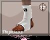White MMA Socks