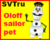 Oloff sailor pet