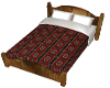 western double bed