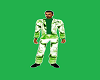 Green lighting Suit