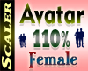 Avatar Resizer 110%