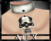 *AX*Skull Collar