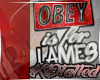 OBEY is for lames