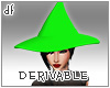 *Dona*Witch Hat Derivabl