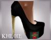 K queen bee heels