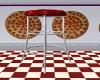 PIZZA HUT COUNTER STOOL