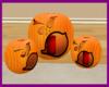Lighted Pumpkins