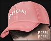 Pink x White Cap