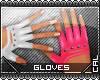 [c] Fusion Gloves Pink