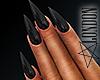 Nails: Black Manicure