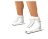 Ice Skates White Petit