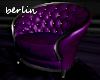 [B] Tufted Chair, Purple