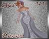 !c Ice Blue Queen Gown