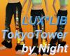 Tokyo Tower-Night flares