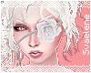 Fleur Eyepatch  White