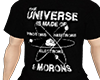 Science Black T-Shirt