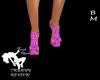 Pink Glitter Girl Heels