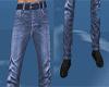 Blue couple jeans M