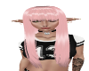 Long Pink with Bangs
