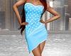 Spotted Dress - SU Blue