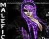 +m+ purple k rasta hair