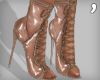 , Laced Plastic Heels V3