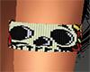 Skull Left Armband