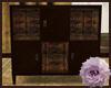 Eccentric Carved Cabinet