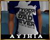 """a"""" YODA Best Dad T Blu"""