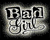 female badgirl tee shirt