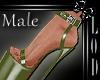 !! Male Green Platform