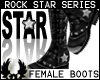 'cp Female Star Boots