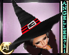 WITCH HAT - RED/BLACK