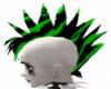 Toxic green Mohawk M
