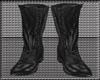 [Ztx] Black biker boots