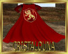 Lion red king cape