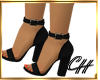 CH-Sexy Blk Coco Shoes
