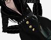 Black Trench Coat PVC