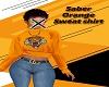 Saber Orange Sweat Shirt