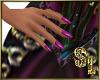 *Purple Nails