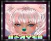 ! K Heart Nose Teal M/F