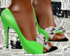 Xtra Xtra Neon Heels