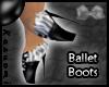 {Kas} Ballet Boots Zebra