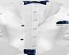 Tuxedo White/Blue