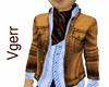 Sexy Light Brown Jacket