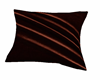 brown velvet pillow