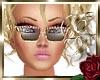 Peach Gold Sunglasses