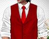 Fe�Red Vest Suit