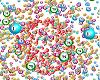 Bingo Balls Particles