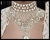 White Bridal Choker